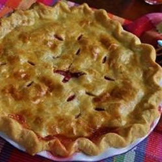 Favorite Strawberry Rhubarb Pie