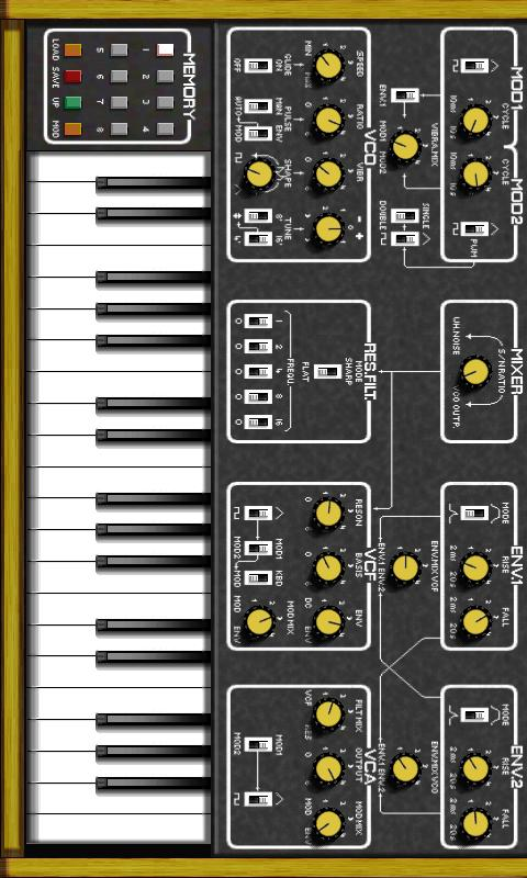 BME Synthesizer - screenshot