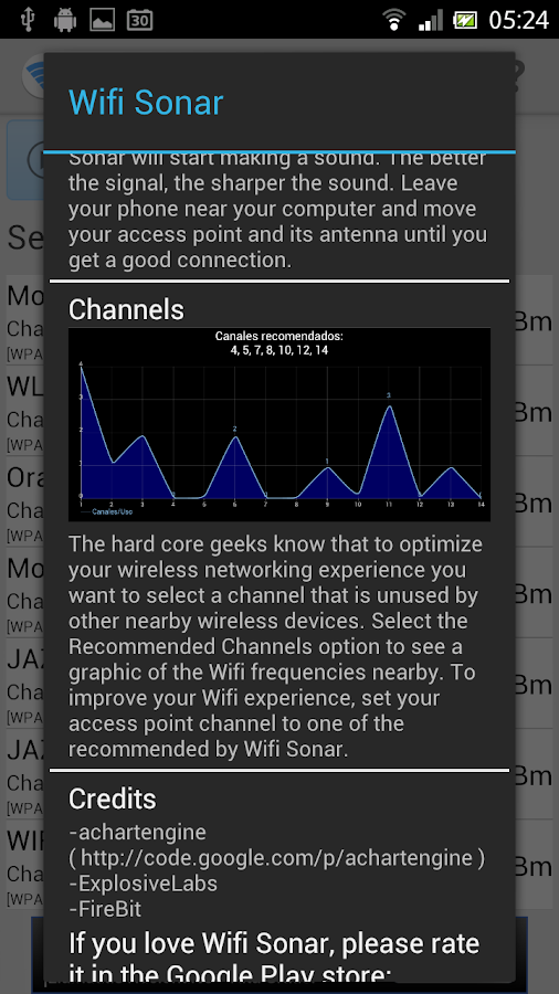 Wifi Sonar - screenshot