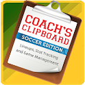 Coach's Clipboard: Soccer icon