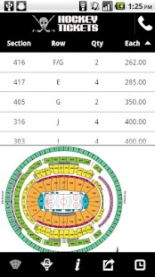 Hockey Ticket App- screenshot thumbnail