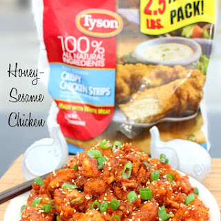 Quick Honey Sesame Chicken