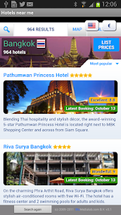 Hotels - screenshot thumbnail