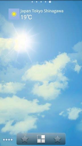 Weather Sky Live Wallpaper 2.03 Windows u7528 1