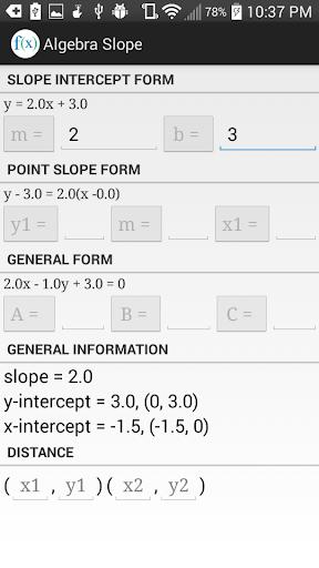玩教育App|Algebra Slope.免費|APP試玩