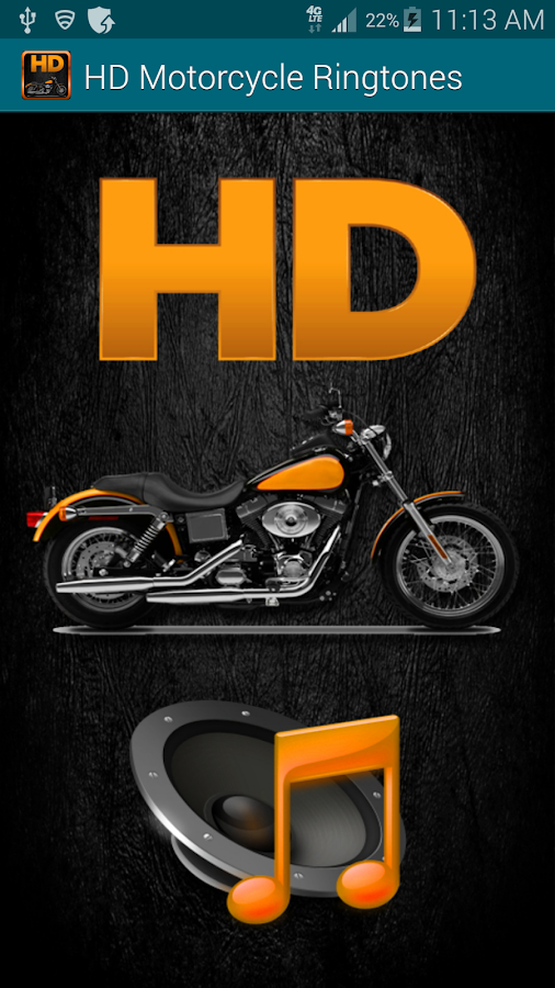 Hd Motorcycle Sounds Ringtones Android Apps On Google Play
