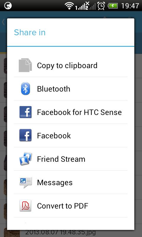 Cloudike - screenshot