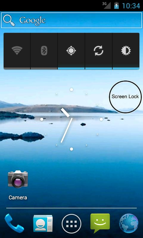 One Click - Screen Lock - screenshot