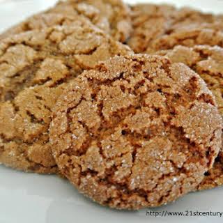 Orange Gingerbread Cookies.