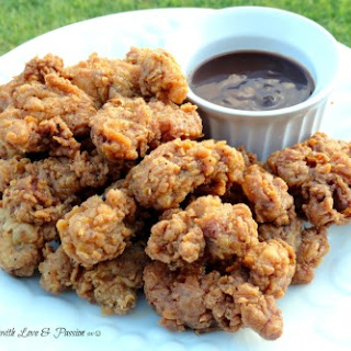 My Mississippi Boy's Deep Fried Chicken Gizzards