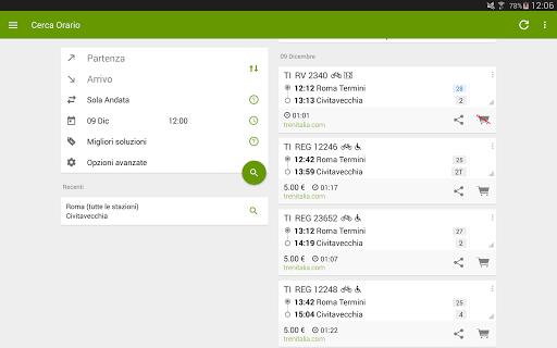 Train Timetable Italy 8.16.4 screenshots 8