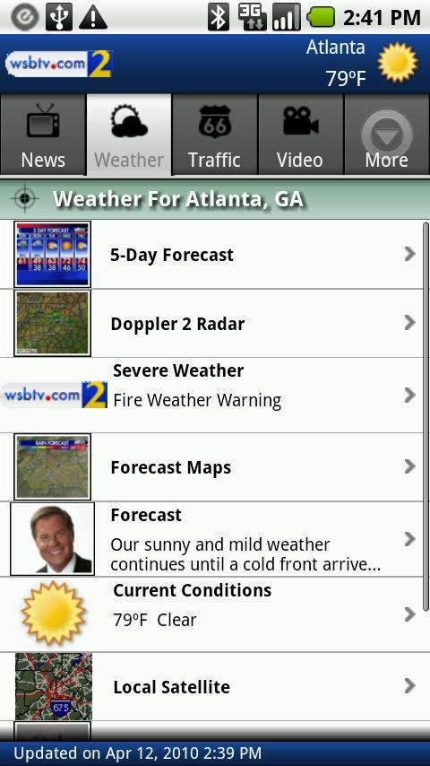 Local News, Weather, and More - screenshot
