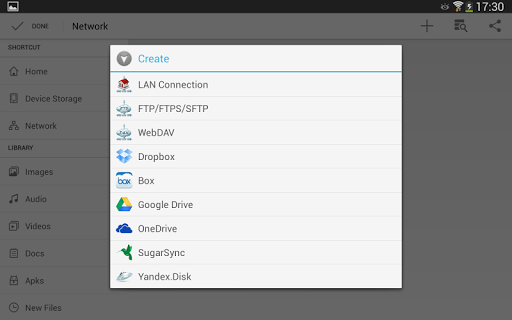 CM FILE MANAGER HD 3.5.0 screenshots 19