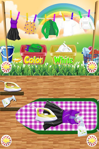 Wash Laundry Games for kids  screenshots 3