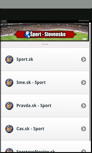 Sport - Slovensko