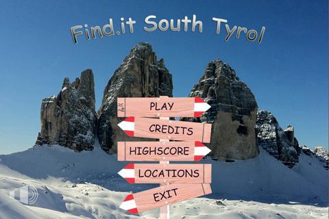 Find.it South Tyrol DEMO