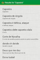 Screenshot of Capoeira Tunes