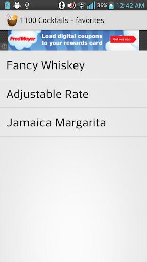 【免費生活App】1100 Cocktails-APP點子
