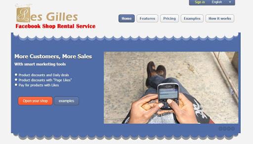 Les Gilles Facebook Webshop
