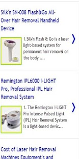 Permanent hair removal - screenshot thumbnail