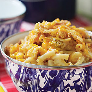 Golden Macaroni & Cheese.