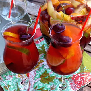 Cherry-Orange Sangria.