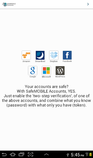 免費下載工具APP|SafeMOBILE Accounts app開箱文|APP開箱王