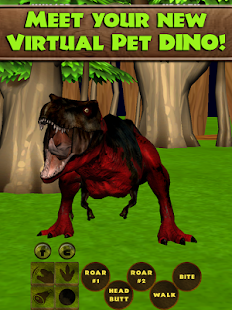Virtual Pet Dinosaur T. Rex