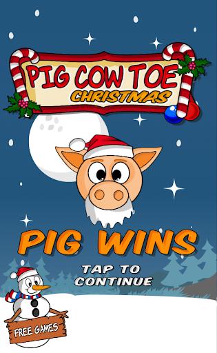 Pig Cow Toe Christmas