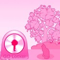 GO Locker Theme Pink Cat icon
