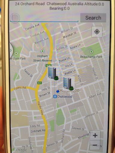 New City Location App
