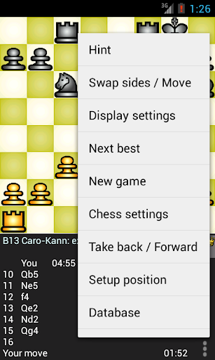 Chess Genius Lite 3.0.4 screenshots 3