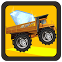 hill climb truck: rush race icon