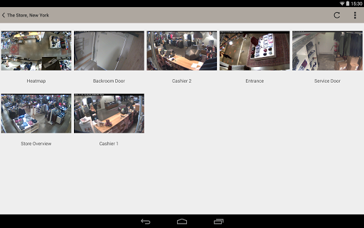 AXIS Viewer for Hosted Video  screenshots 8