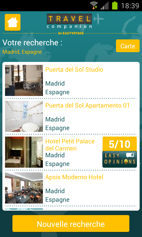Easyvoyage : Comparateur - screenshot
