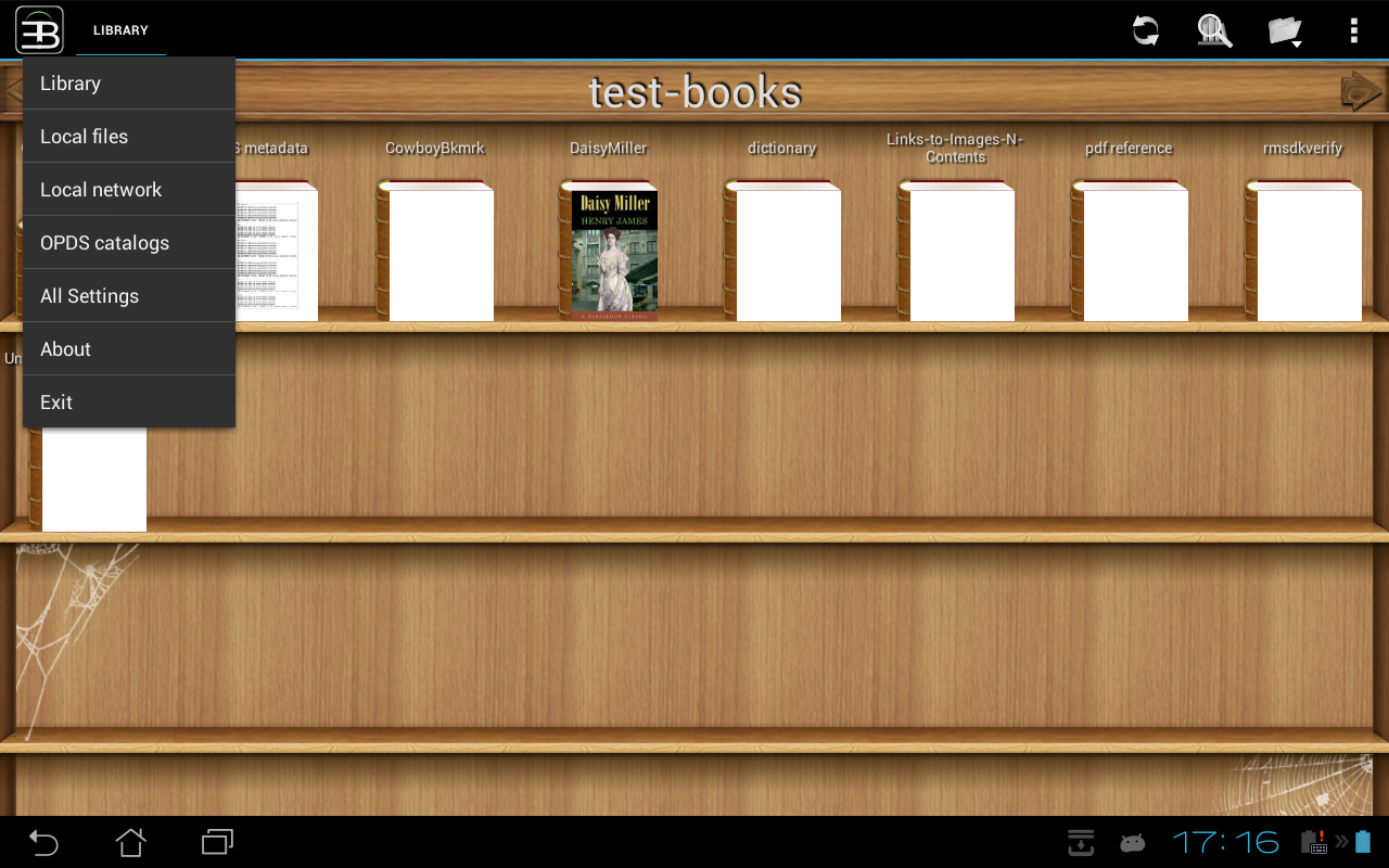 EBookDroid - PDF & DJVU Reader: captura de pantalla