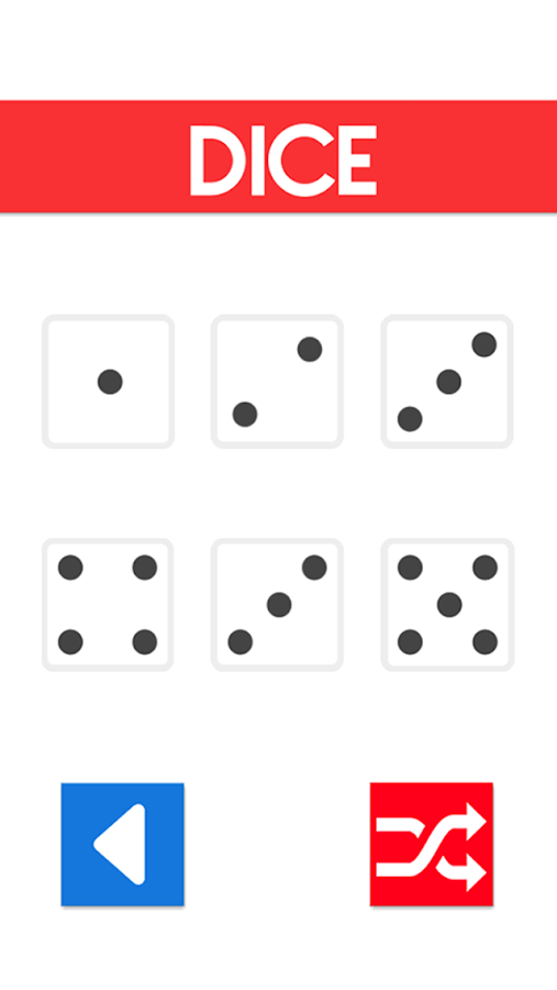 Randomizer Pro - Dice, Numbers- screenshot