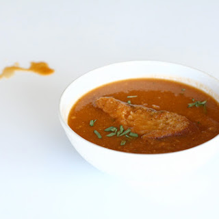 Roasted Tomato Soup with Tarragon Recipe