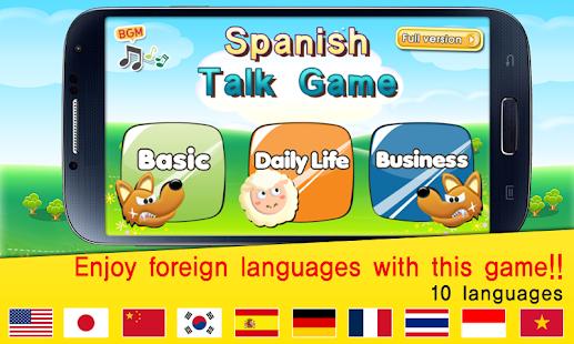 TS 西班牙语会话游戏