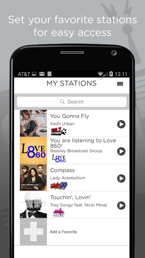iRadioNow - screenshot