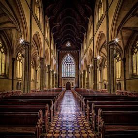 St Patrick's Dark Sanctuary by John Williams - Buildings & Architecture Places of Worship ( melbourne, australia, building, interior, worship )