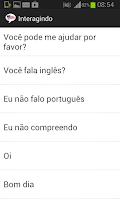 Screenshot of Inglês de Bolso Free