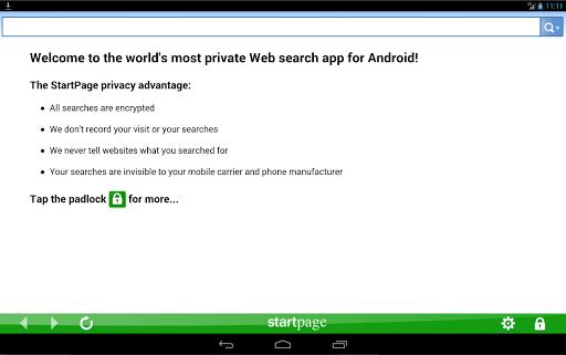 StartPage Private Search  screenshots 3