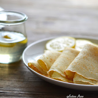 Gluten Free Crêpes (Xanthan Gum Free)