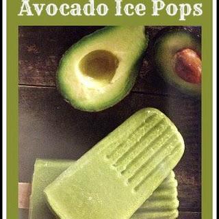 Avocado Ice Pop #Recipe Recipe