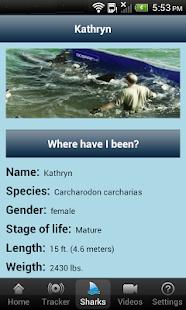 Global Shark Tracker - screenshot thumbnail