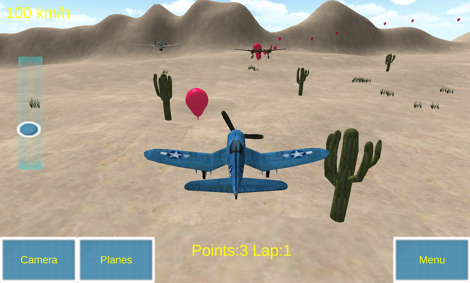 Kids Plane Racers- screenshot