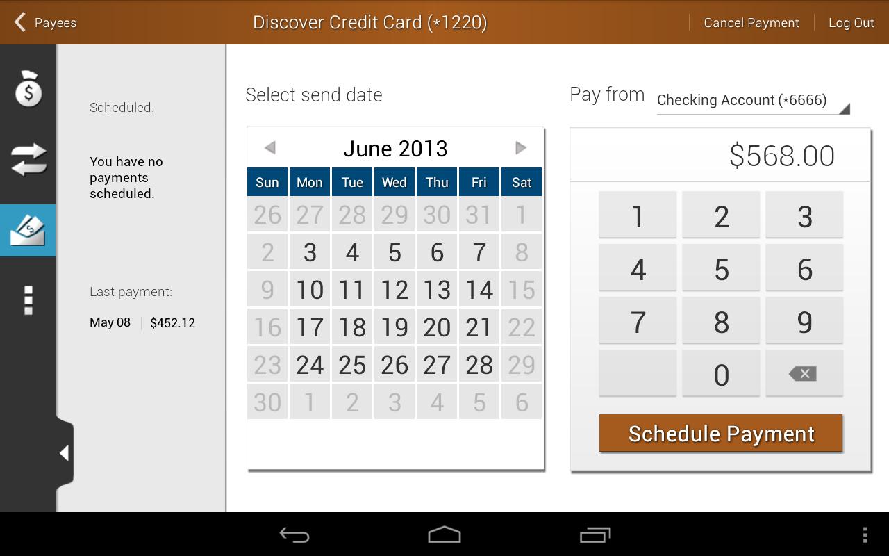 North County CU Mobile Banking - screenshot