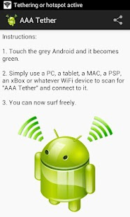 AAA Tether Free (No Root) - screenshot thumbnail