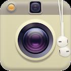 Retro caméra icon